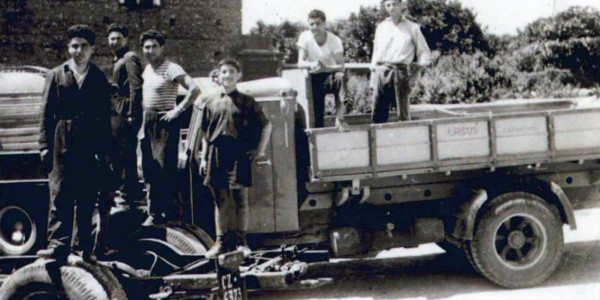 Primi ribaltabili Palmieri – 1946